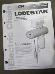 cm lodestar hoist wiring diagram cm image wiring cm lodestar j new 1 2 ton electric chain hoist 32fpm 15 039 lift on cm