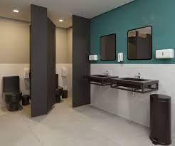 Salao comercial, pequeno mas bem organizado, rua bem movimentada, exclente para montar salao de beleza ou banho. Banheiro Comercial Com Porta Preta Banheiro Banheiro Pequeno Porta De Banheiro
