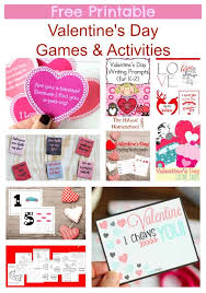 Free Printable Valentine's Day Games & Activities - The Natural ...
