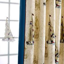 Ideas Nautical Bedroom Curtains For Kid Room