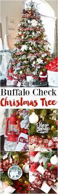 Plaid Christmas Tree Buffalo Check Christmas Tree A Pumpkin And A Princess