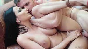 Sensual brunette babe Anissa Kate gets her trimmed pussy blasted.