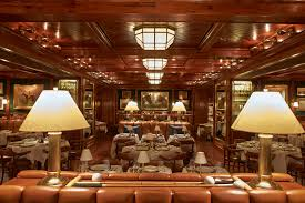 Living Room Bar Nyc Ralph Laurens First New York Restaurant The Polo Bar Opens Female
