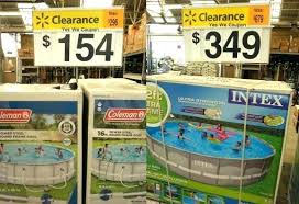 above ground pools from walmart.  Walmart 18 Ft Pool Walmart Save Over On Above Ground Pools At  Cover With From