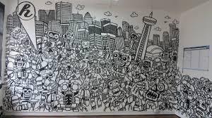 office graffiti wall. OFFICE SKYLINE Office Graffiti Wall W