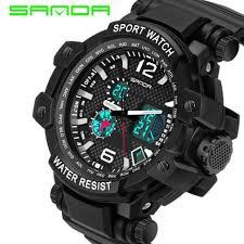 brand sanda watch men watch digital quartz sport watches fashion brand sanda watch men watch digital quartz sport watches waterproof led military watches hour clock relogio masculino