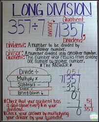 Division Steps Anchor Chart 50 Surprising Division Key Words Anchor Chart
