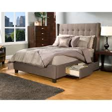 Image of: King King Bed Frames With Storage