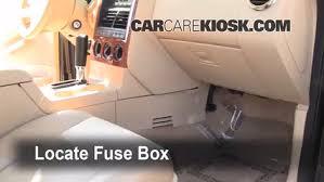interior fuse box location 2006 2010 ford explorer 2006 ford