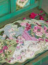 Emily's Roses Kitchen Set Quilting Pattern Download from e ... & Gazebo Patchwork Quilted Placemat; Beautiful! Placemat IdeasQuilted  Placemat PatternsQuilted Table ... Adamdwight.com