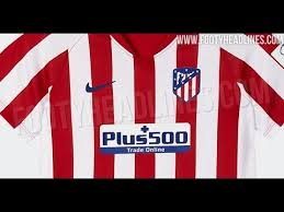 Nike atletico madrid 19/20 youths dry strike tracksuit. Atletico Madrid 19 20 Home Kit Leaked Youtube