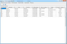 Курсовая работа делфи на тему разработка базы данных по расчету  Главное окно программы коммунальных платежей