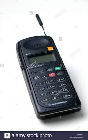 motorola old mobile phones. stock photo - generic image of a motorola mr30 mobile phone launched in 1994 with the advertising tag \ old phones