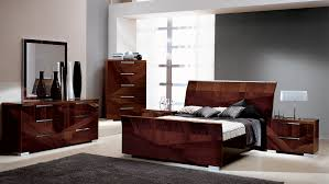 capri alf italian modern bedroom set