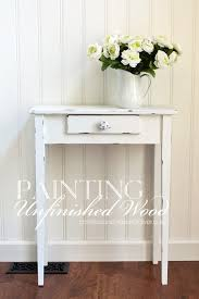 how to paint unfinished wood to look distressed from confessionsofaserialdiyer com