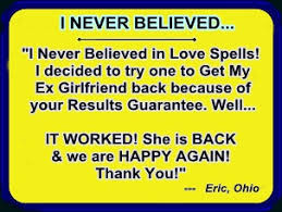 Image result for i need a real spell caster to bring back my ex lover