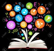 book symbol the school of sciences royalty cliparts vectors vector book symbol the school of sciences