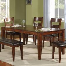 Holland House 1279 Modern Solid Mango Wood Dining Table Miskelly