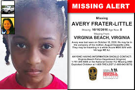 Avery Frater Little Age Now 8 Missing 10 16 2016 Missing From