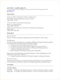 Resume Academic Therpgmovie