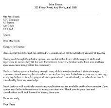 New Sample Of Cover Letter For Teaching Job    In Simple Cover Letters with  Sample Of Cover Letter For Teaching Job florais de bach info