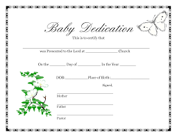 Baby Birth Certificate Template Free Printable Shower Guest List ...