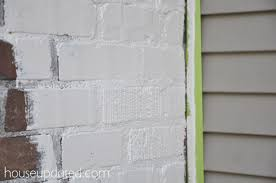 painting exterior trim. painting exterior brick 2 trim