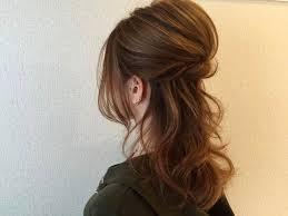 清楚でおしゃれハーフアップのヘアアレンジ Fav Hairstyle ヘア