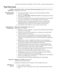 Law Enforcement Resume Objective Law Enforcement Resume Objective Legal Job Entry Level Police Ficer 15