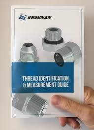 Hydraulic Fitting Type Chart Free Guide Simplifies Thread Identification Measurements