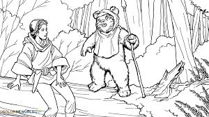 Small Picture Ewok Coloring Page PrintableColoringPrintable Coloring Pages
