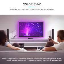 Indirim Hdmi sync kutusu kiti rgb tv arka plan şerit açık renk değişimi  kısılabilir esnek sync işık ile birlikte filmler/oyunlar > Aydınlatma  aksesuarları \ PazarOgeleri.news