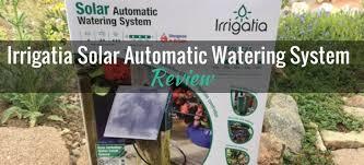 irrigatia solar automatic watering