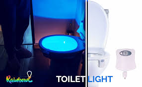 RainBowl <b>Motion Sensor Toilet</b> Night <b>Light</b> - Funny & Unique ...