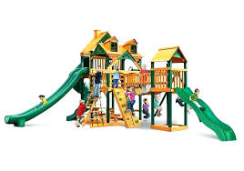 wooden options wood swing set play system in s outdoor for used craigslist playsets