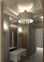 modern entryway lighting. modern chandelier and wall lights for foyer decorating entryway lighting