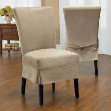 quickcover luxury suede mid pleat relaxed fit dining chair slipcover with ons com ping the best deals on chair slipcovers