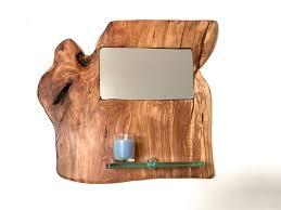 wood wall mirror decor prev