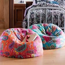 Sitting Chairs For Bedroom Colorful Floral Bean Bag Sitting Chairs For Bedroom Comfy