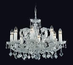 Maria Kristall Kronleuchter 8 Armig Aus Bohemian Cut Crystal
