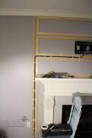how to hide tv cables on brick