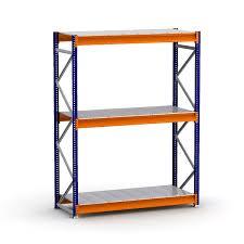 bulk rack shelving units with steel decking