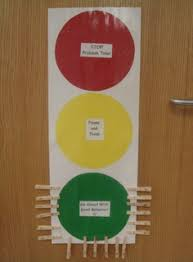 Red Yellow Green Behavior Chart Traffic Light Management Tool All Students Start On Green