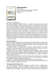 legacies of historical globalization essay titles thesis high  barcelona