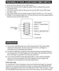 leviton decora timer wiring diagram wiring diagram and schematic hanks electrical supply detail