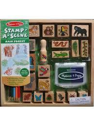 melissa doug stamp a scene rainforest 1