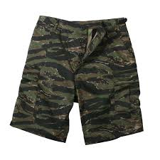 Details About Rothco 7085 Tiger Stripe Camo Bdu Shorts
