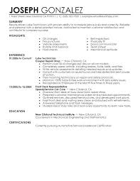 Sample Resume For Electronics Technician Navy Nuclear Electronics Technician Resume Electronic Samples
