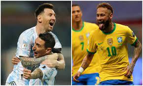 Final Argentina vs. Brazil: last minute ...