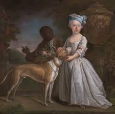 bartholomew dandridge a young girl with a dog and a page 1725